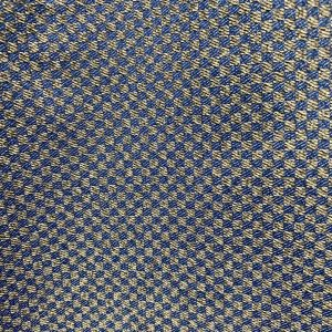 Grey and Blue Check Fabric