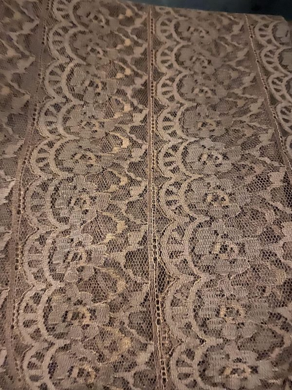 Brown Nylon Lace