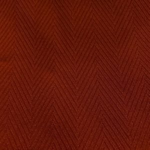 Dark Orange Vintageself Pattern Fabric