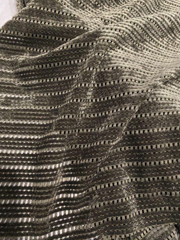Khaki Velour Knit