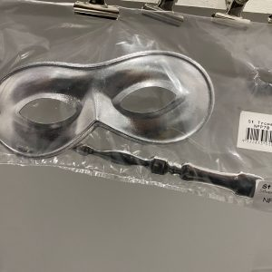 Small Silver Mask