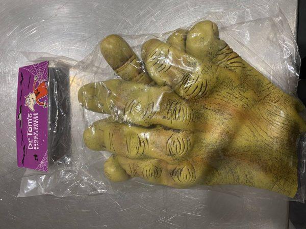 Giant Rubber Ogre Hands